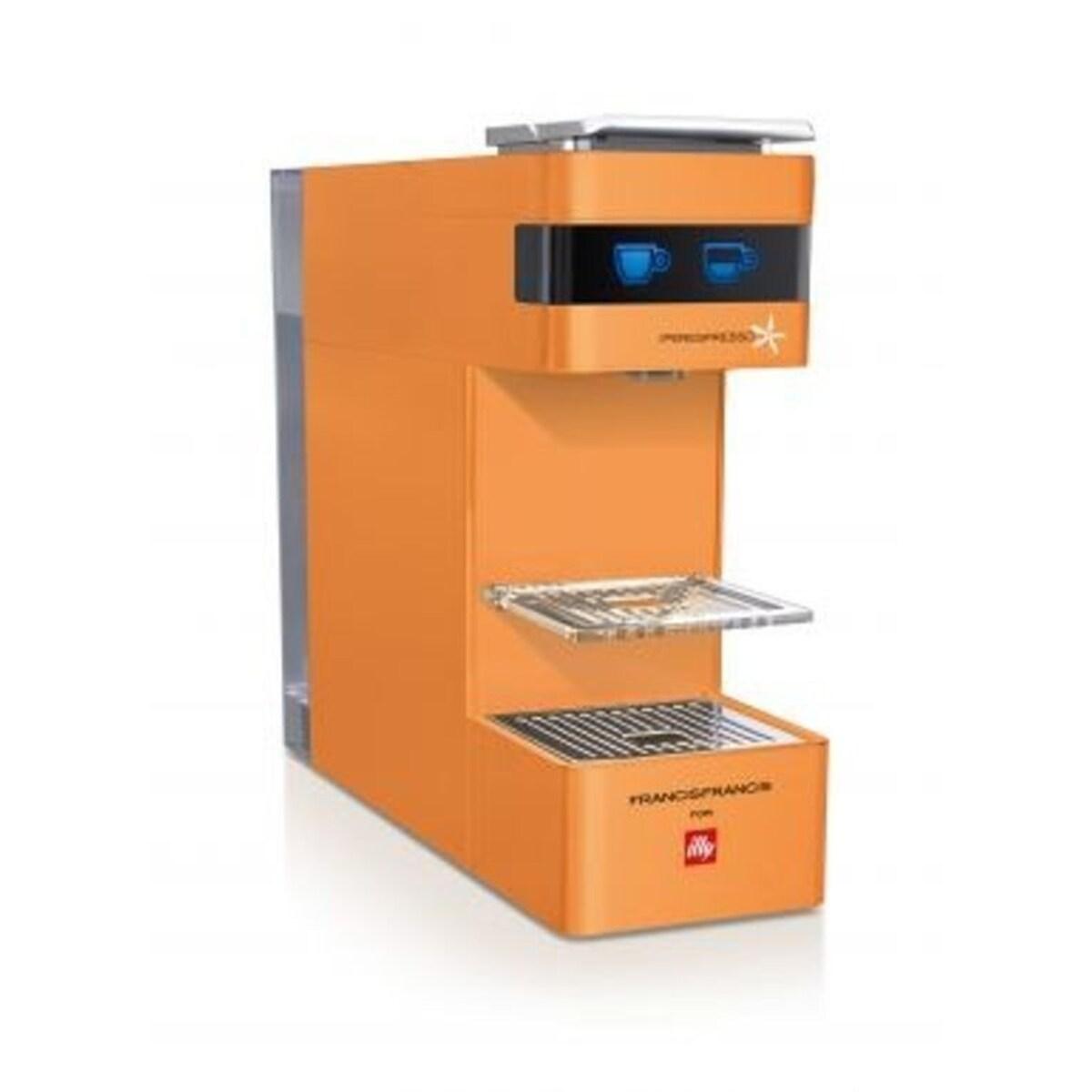 Кафемашина illy Francis Francis Y3 Orange, IperEspresso система