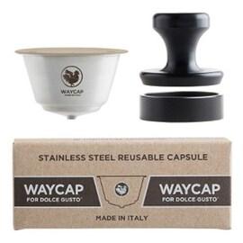 WAYCAP капсули за многократна употреба за Dolce Gusto кафемашина от неръждаема стомана- 1 бр