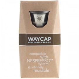 WAYCAP капсули за многократна употреба от неръждаема стомана за Nespresso кафемашина- 1 бр