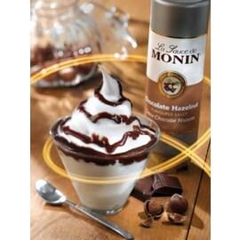 Монин Сос Черен шоколад с лешници, 1,890 л