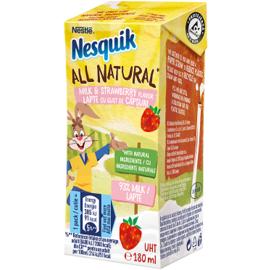 Млечна напитка с вкус на ягода Nesquik 180 ml