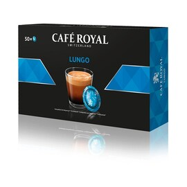 Lungo падове Cafe Royal за Nespresso професионална кафемашина