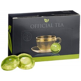 Official Tea Sencha Nespresso Professional падове чай