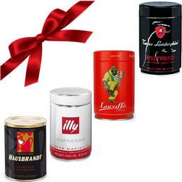 Espresso Galore - подаръчен пробен еспресо сет мляно кафе