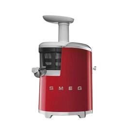 Smeg 50's Style бавнооборотна сокоизстисквачка цвят червен