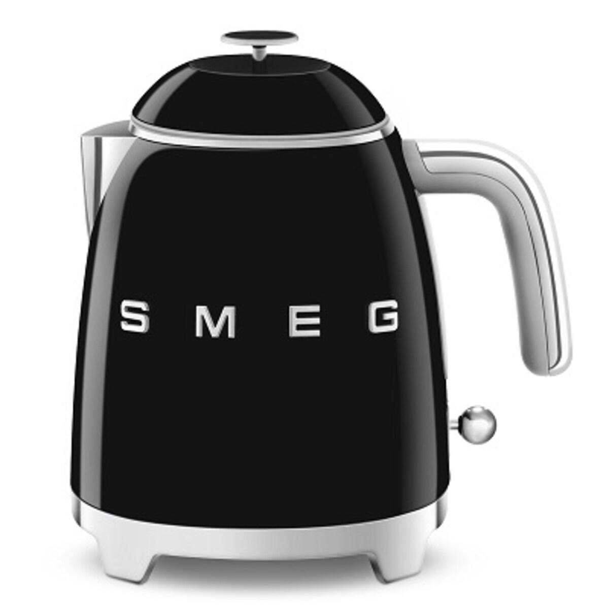 Термокана Smeg 50`s Style черна, 0.8л