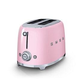 Smeg 50`s Style тостер цвят розов
