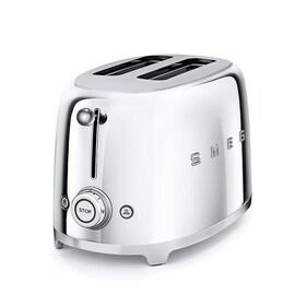 Smeg 50`s Style тостер цвят Хром / сребро