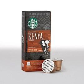 Starbucks Kenya 10бр Nespresso съвместими капсули