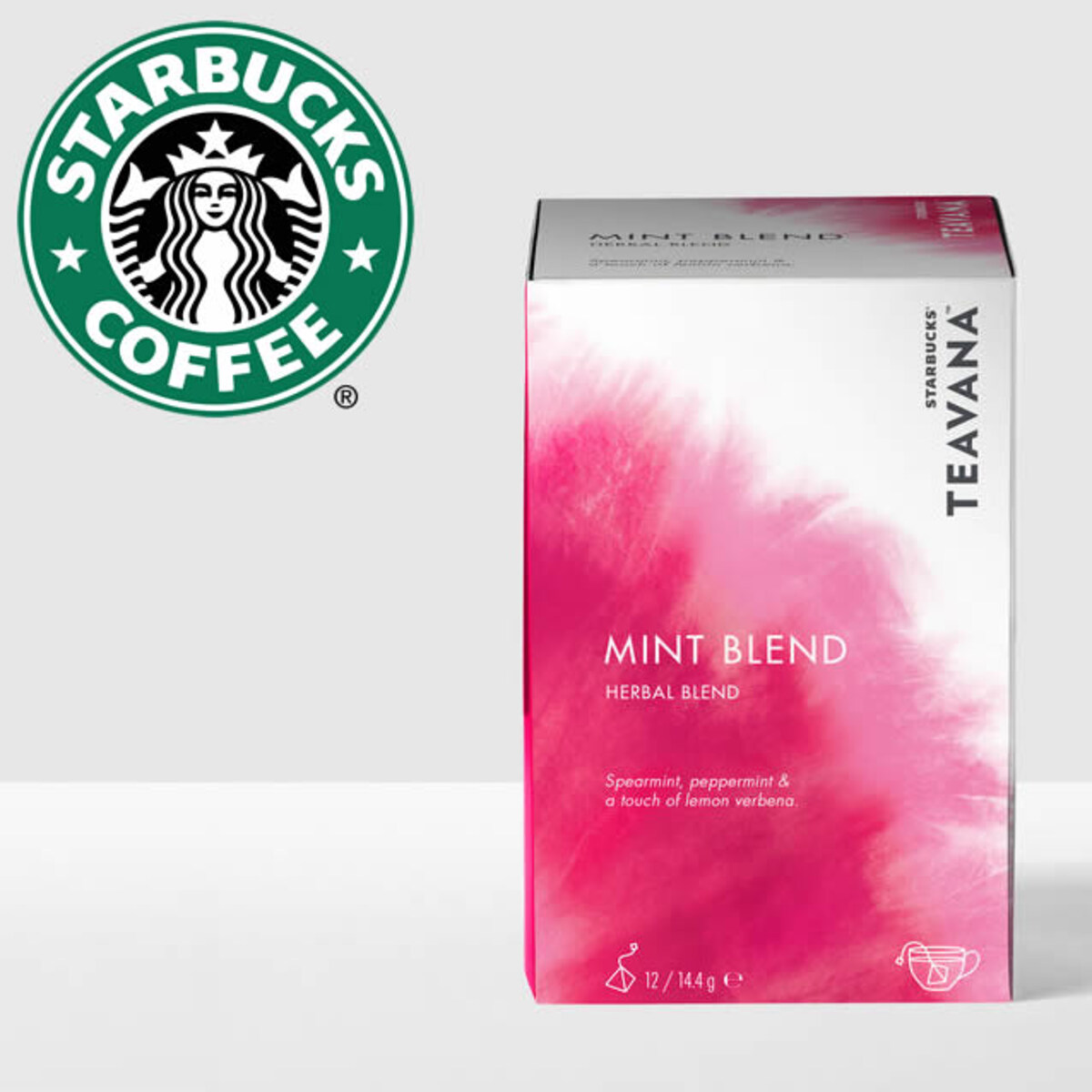 Starbucks Teavana Mint Blend билков чай на сашета 12бр
