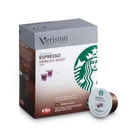 Starbucks Verismo Espresso 12бр K-fee съвместими капсули