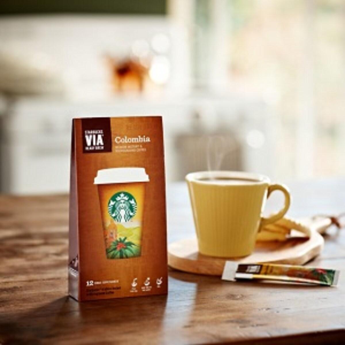Starbucks инстантно кафе на пакетчета Colombia