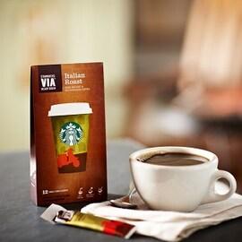 Starbucks инстантно кафе на пакетчета Italian Roast