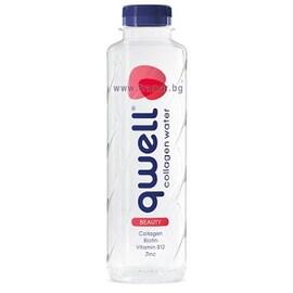 Qwell Beauty вода с колаген 475 мл.
