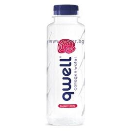 Qwell Rose вода с колаген 375мл