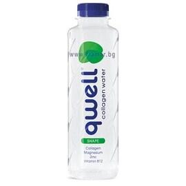 Qwell Shape вода с колаген 475мл