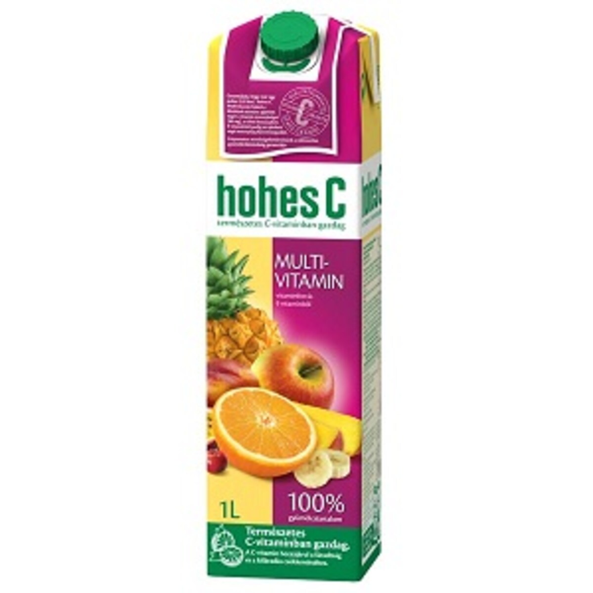 Hohes C Мултивитамин 100% плодов микс