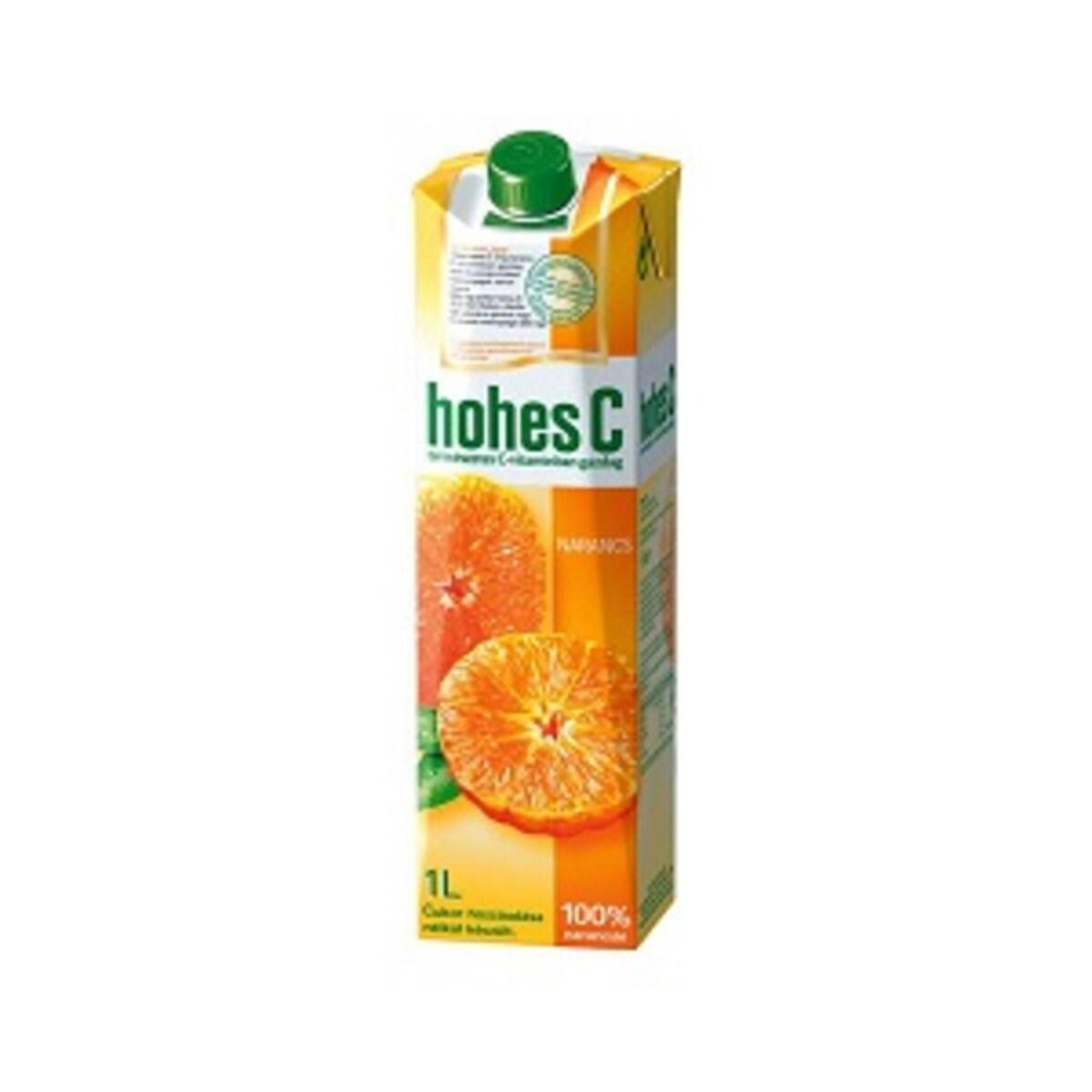 Hohes C Портокал стандарт 100% сок 1л