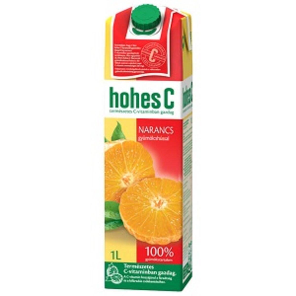 Hohes C Портокал с пулп 1л сок