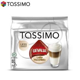 Tassimo Gevalia Latte Macchiato (с по-малко захар)