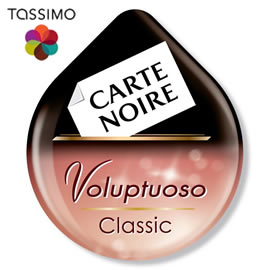 Tassimo Carte Noire Voluptuoso Classic, Rainforest Alliance Certified