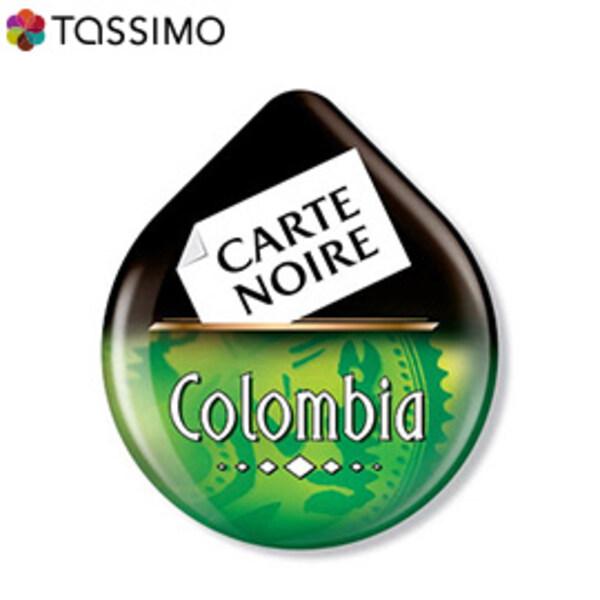 tassimo carte noire voluptuoso colombia. Black Bedroom Furniture Sets. Home Design Ideas