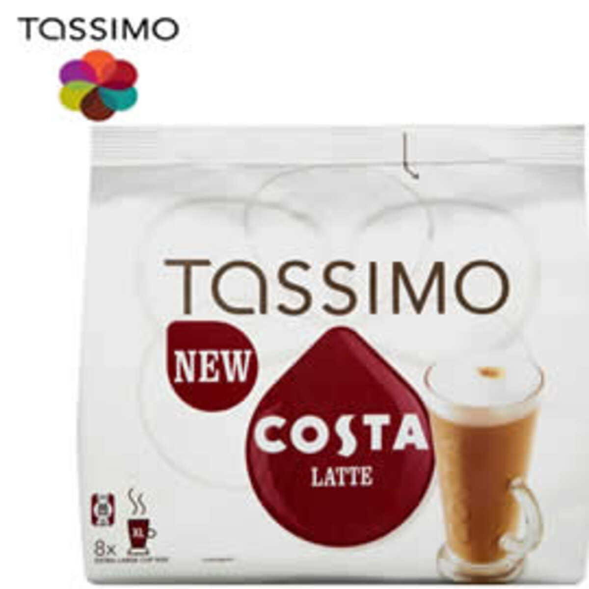 Tassimo Costa Latte Macchiato