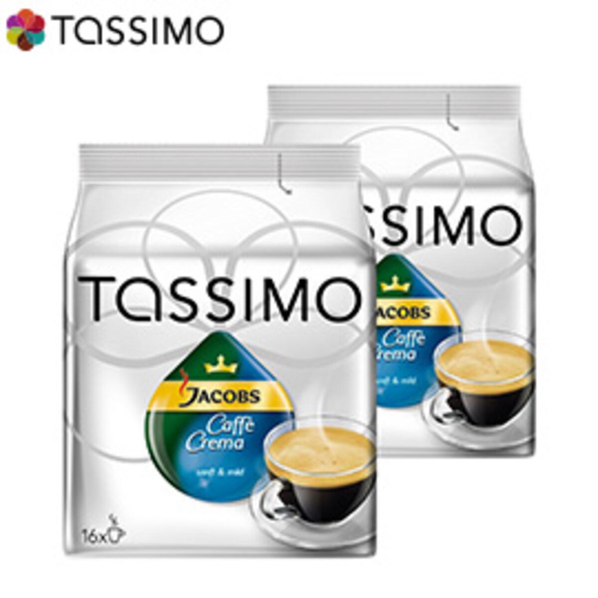 Tassimo Jacobs Caffe Crema Velvety & Mild