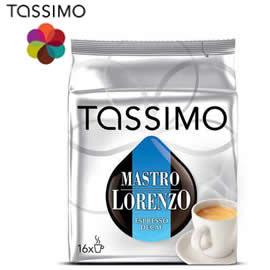 Tassimo Mastro Lorenzo Espresso Decaffeinato