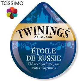 Tassimo Twinings Étoile de Russie, Black Tea