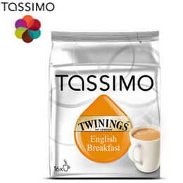 Tassimo Twinings English Breakfast Tea - черен чай
