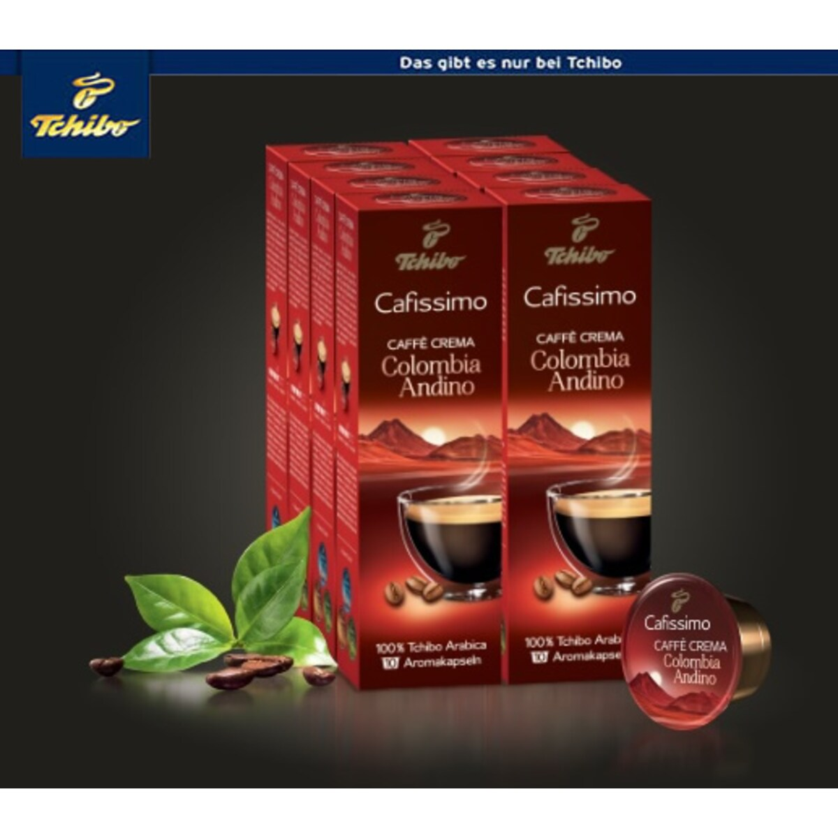 Tchibo Caffè Crema Colombia Andino- 80бр капсули