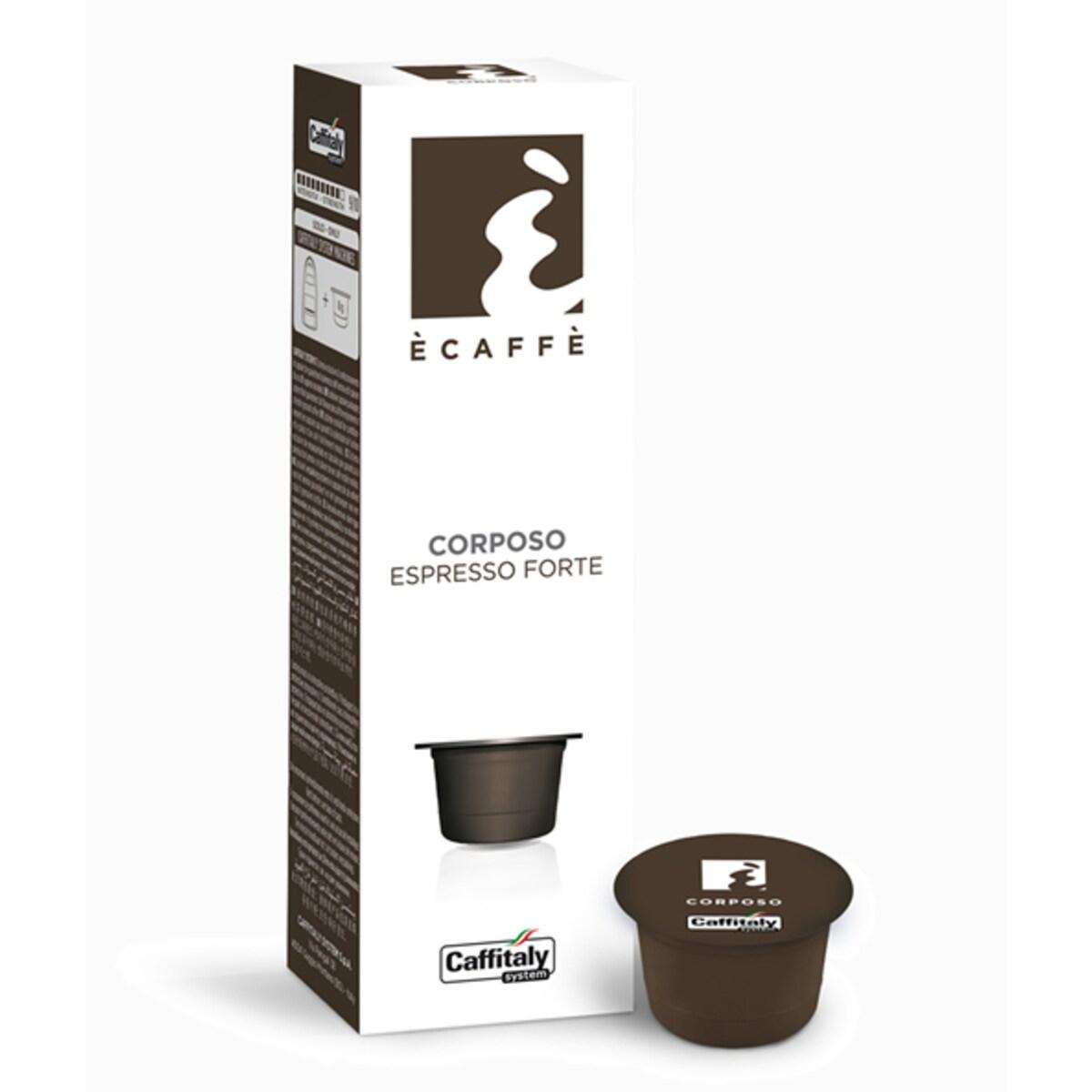 Капсули Ecaffe Corposo - Tchibo Cafissimo съвместими капсули