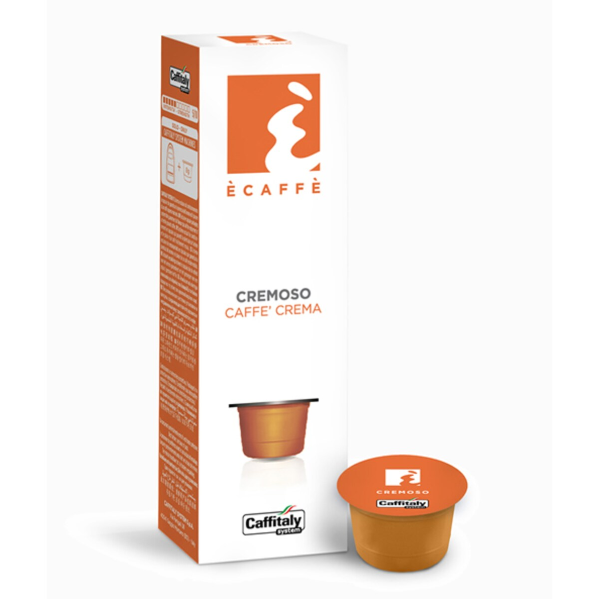 Капсули Ecaffe Cremoso - Tchibo Cafissimo капсули