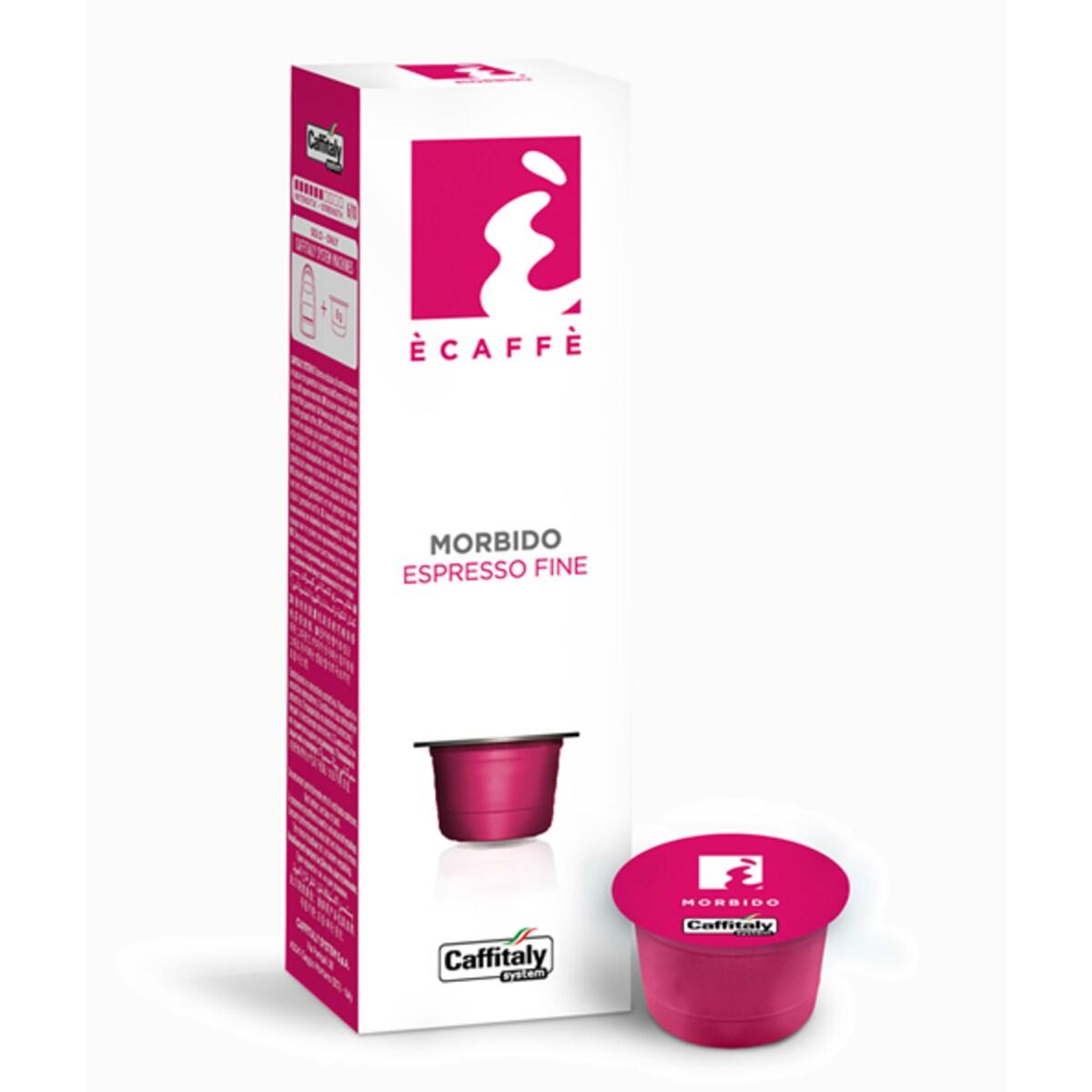 Капсули Ecaffe Morbido - Tchibo Cafissimo съвместими капсули