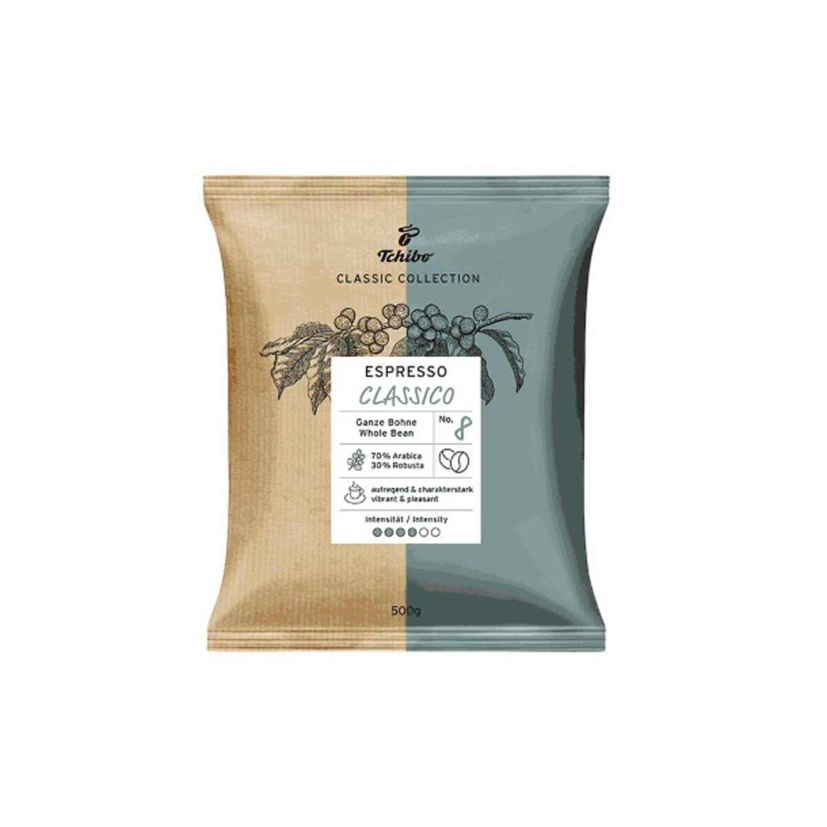 Tchibo Espresso Classico - кафе на зърна 500g