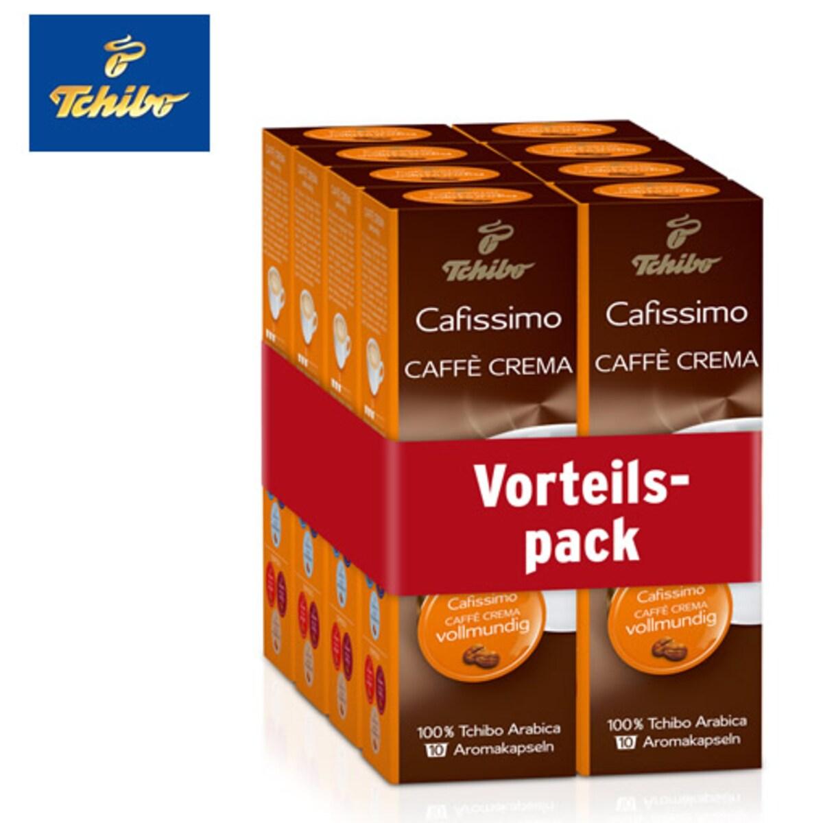 Tchibo Caffe Crema Rich Aroma - 80бр капсули