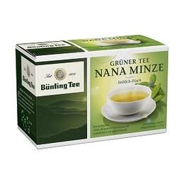 Зелен чай с дива мента Bünting Tee
