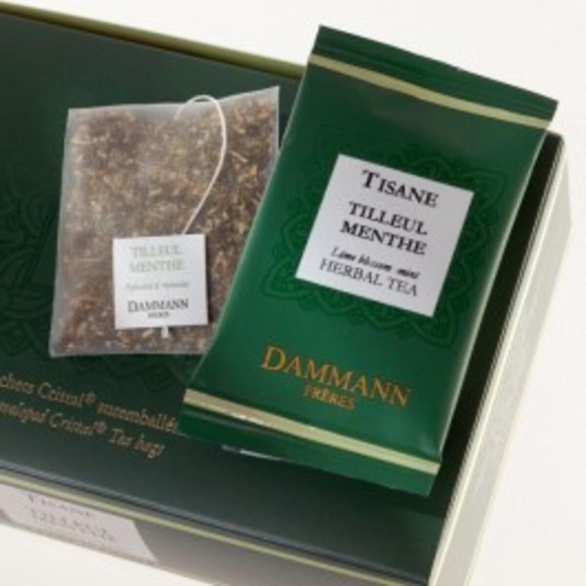 Билков чай Dammann Мента - 24 бр сашета в кутия