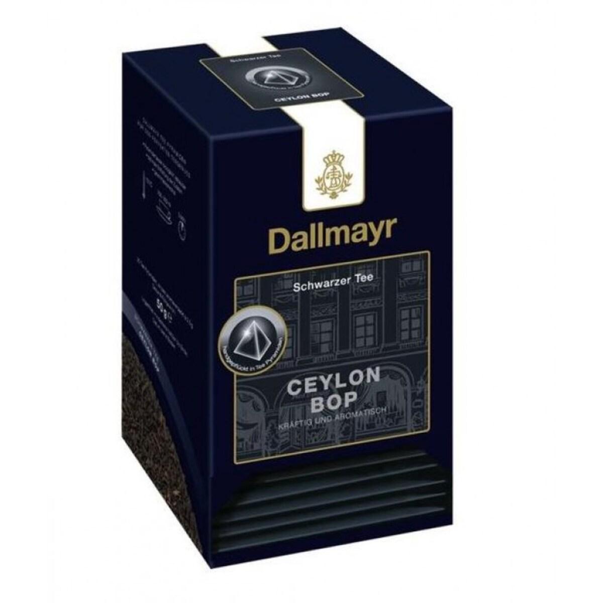 Черен чай Ceylon Bop Dallmayr,  20 сашета