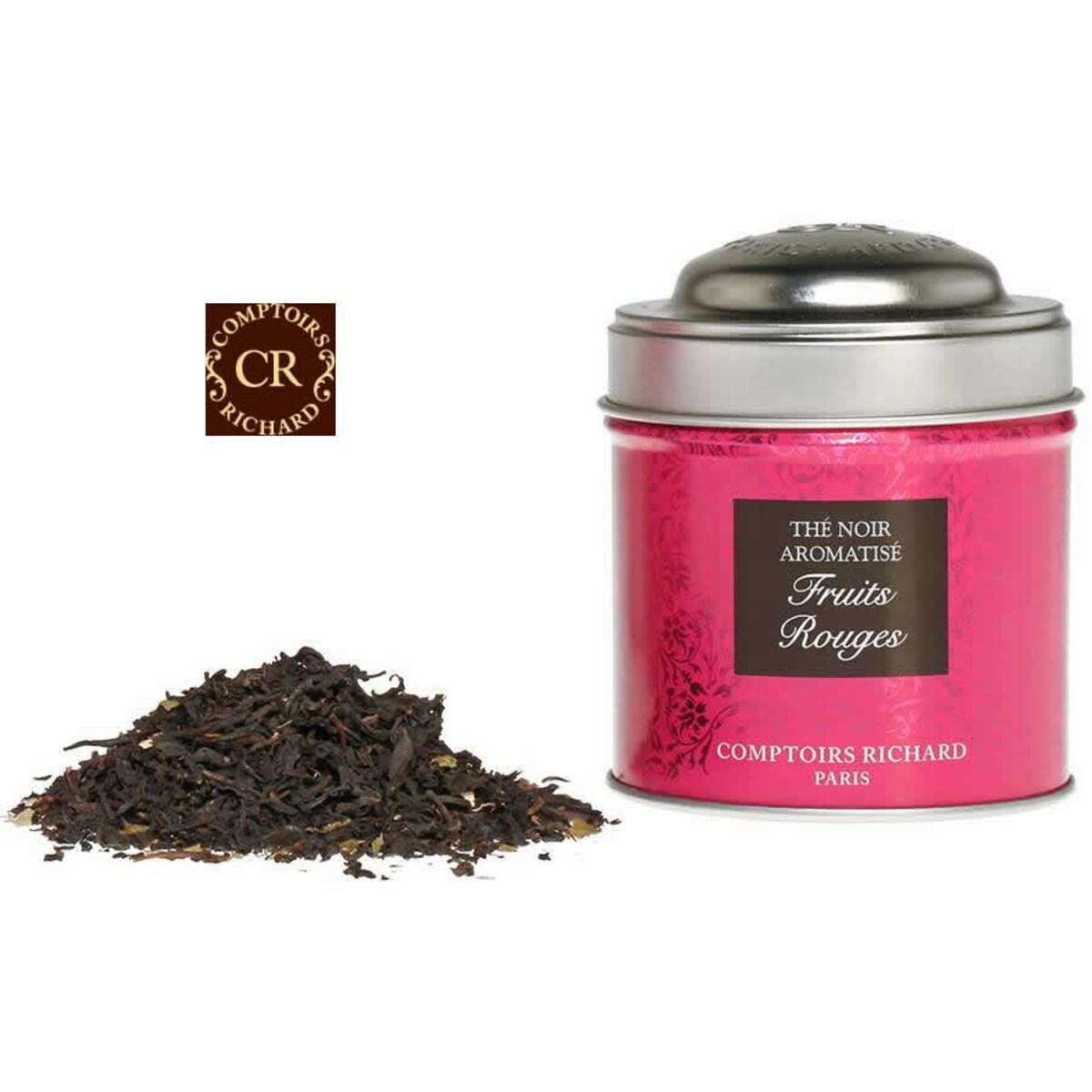 Comptoirs Richard Fruits Rouges  - насипен плодов черен чай