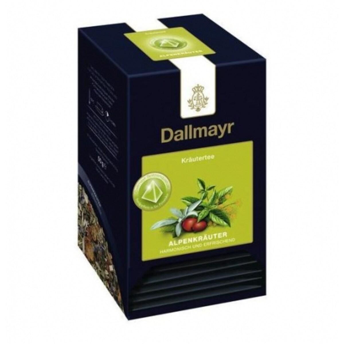 Aлпийски билки Dallmayr, 20 сашета