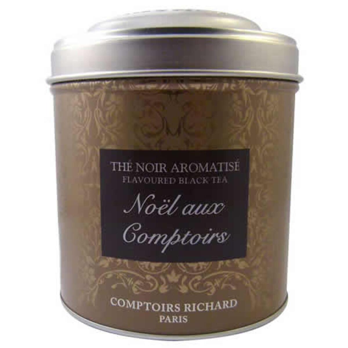 Comptoirs Richard Noël aux Comptoirs - насипен черен чай Коледа