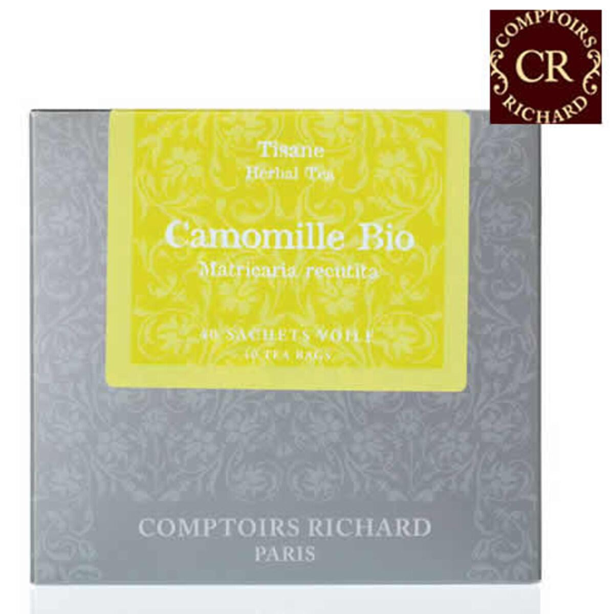 Comptoirs Richard Camomille Bio - 40бр сашета билков чай био лайка