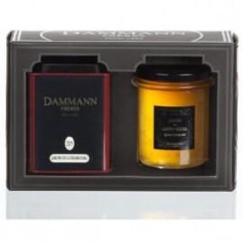 "Подаръчен комплект Чай ""Caprice"" Jardin du Luxembourg - чай и  чаено желе"