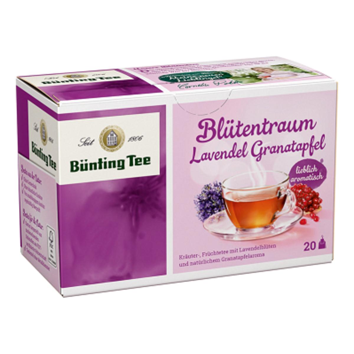 Лавандула и нар Bünting Tee 20бр чай сашета