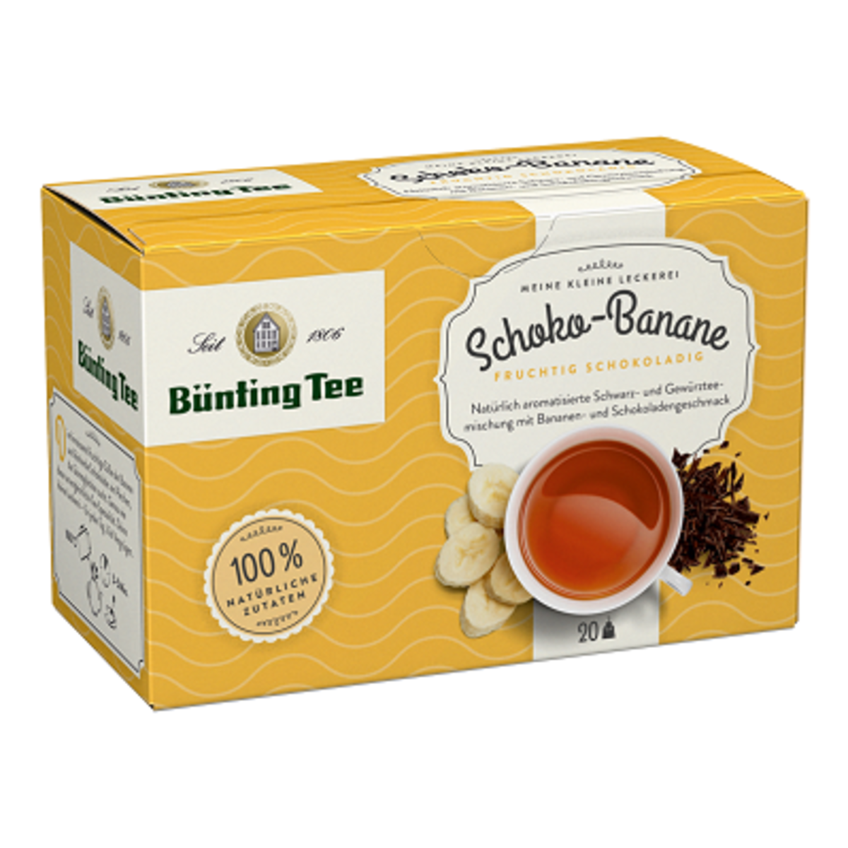 Шоко Банан Bünting Tee 20бр чай на сашета