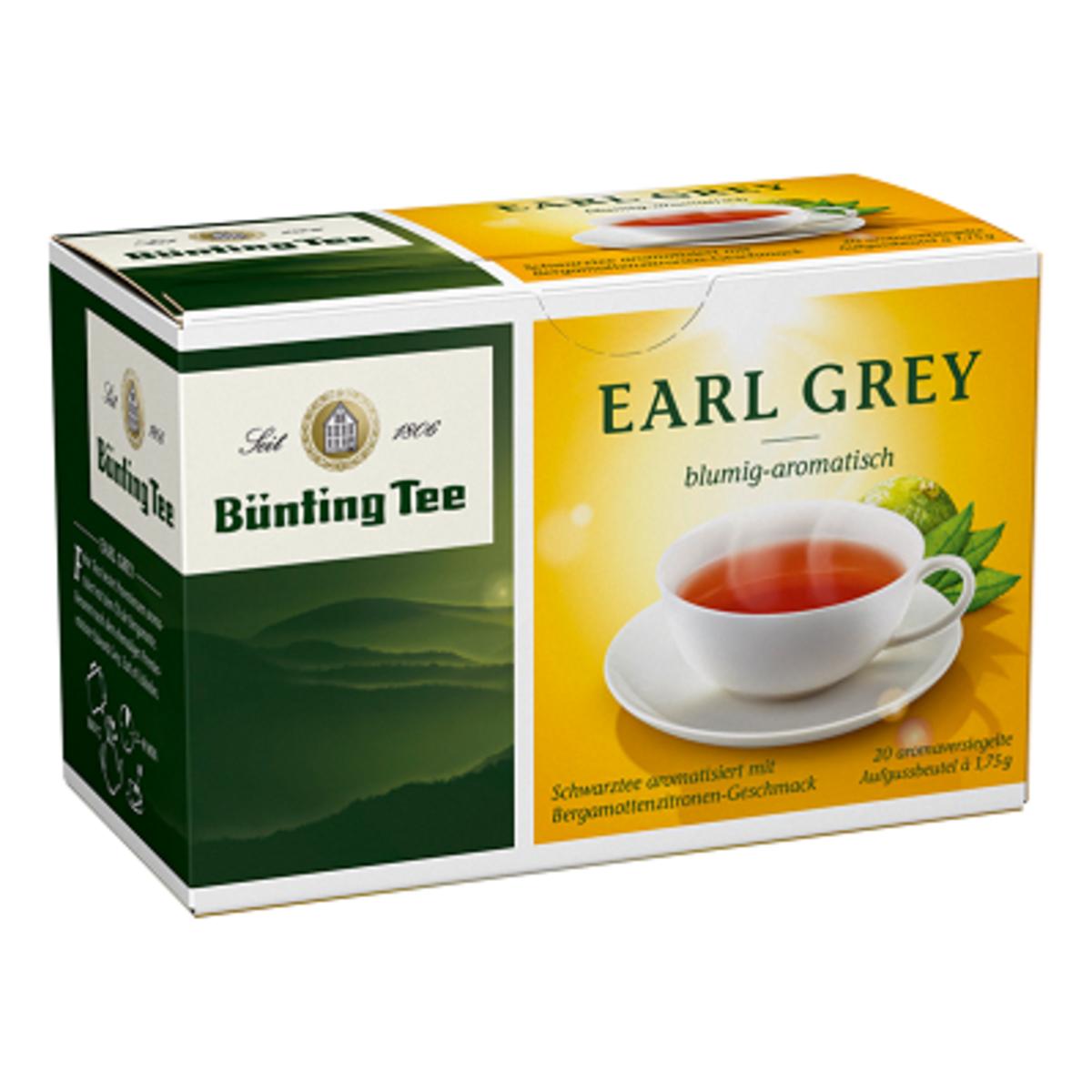 Bünting Tee Earl Grey 20 бр сашета