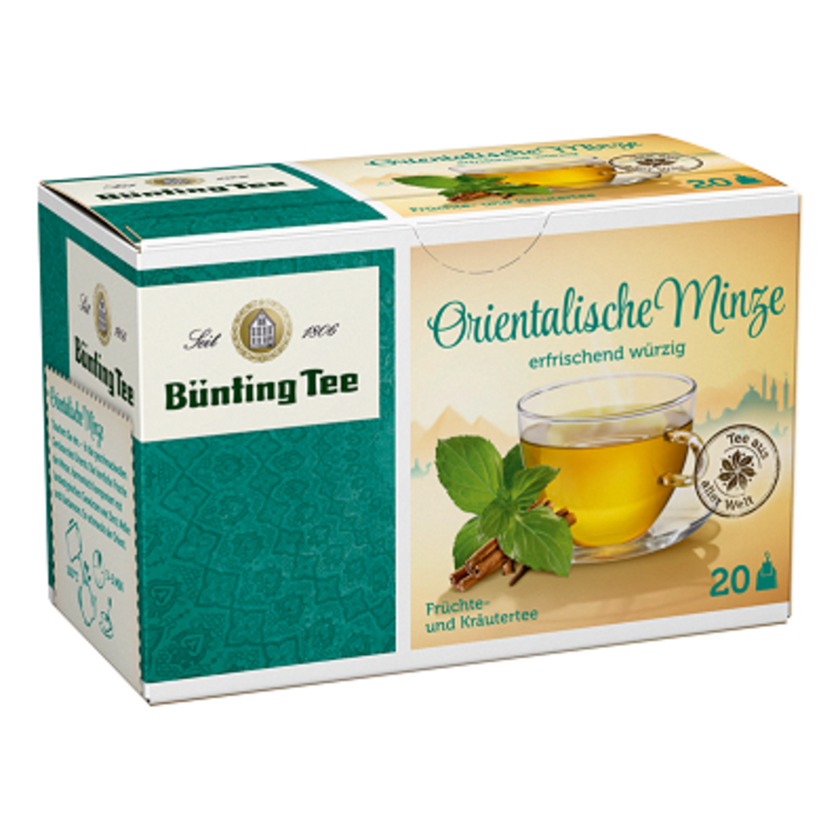 Чай Bünting Tee Ориенталска мента