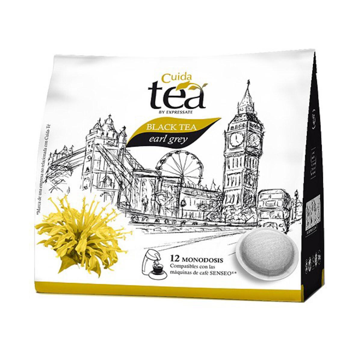 Cuida Black Tea Earl Grey - Сенсео съвместим пад черен чай